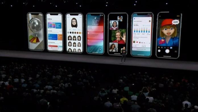 Apple iPhone X Samsung Android Oreo Google Apple iOS 12 WWDC 2018