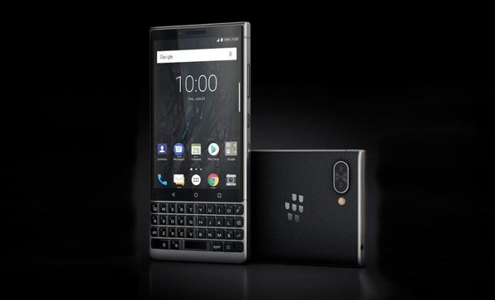 Android. Imagem revela como será o próximo BlackBerry Key2