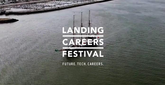 Landing Festival Lisboa: Tecnologia, Futuro e Carreira profissional