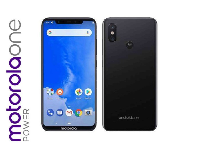 Motorola One Power Android One Google