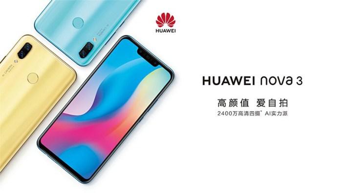 Confirma-se. Huawei Nova 3 terá especificações topo de gama