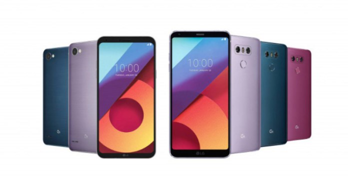 LG Q6 Android Oreo smartphone