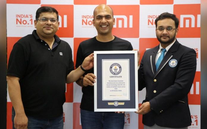 Xiaomi India Guinness Records