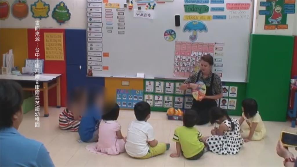 學齡前學英語?教部擬修幼兒園外語條款 生活自理能力都不會 民團轟本末倒置 四季線上4gTV