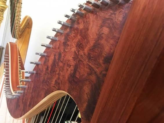 bubinga-harp-detail