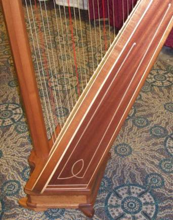 Pratt Empress Harp for Sale or Rent