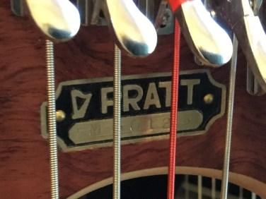 Bubinga Pratt Harp for sale serial number