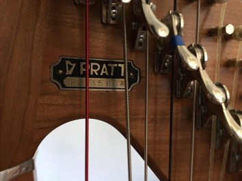 Cherry Pratt Princessa Harp for Sale in Dallas Serial Number