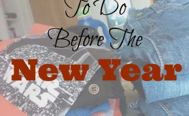 5 Household Tasks To Do Before The New Year 4 Hats And