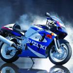Susuki Bike Blue