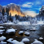 Free download ice on water hd wallpaper