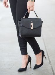 sydne-style-wears-henri-bendel-uptown-mini-satchel-as-a-mongrammed-bag
