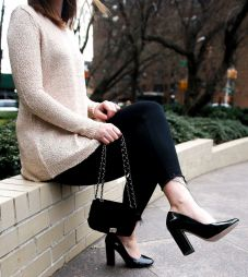 ten-sweaters-under-100-stacked-heel-pumps-sequins-strawberries