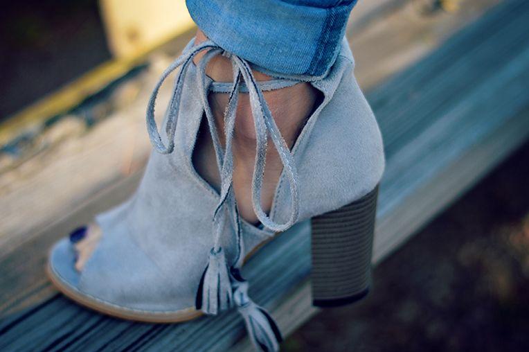 tassel-booties
