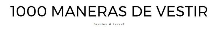 _ 1000 Maneras De Vestir logo