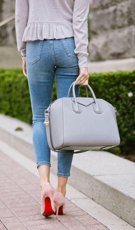 grey-rebecca-taylor-ruffle-sweater-pink-peonies-blogger-11