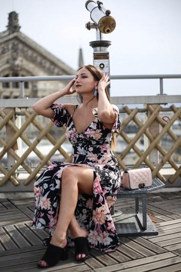 La Minute robe-longue-imprimé-fleurie-blog-mode