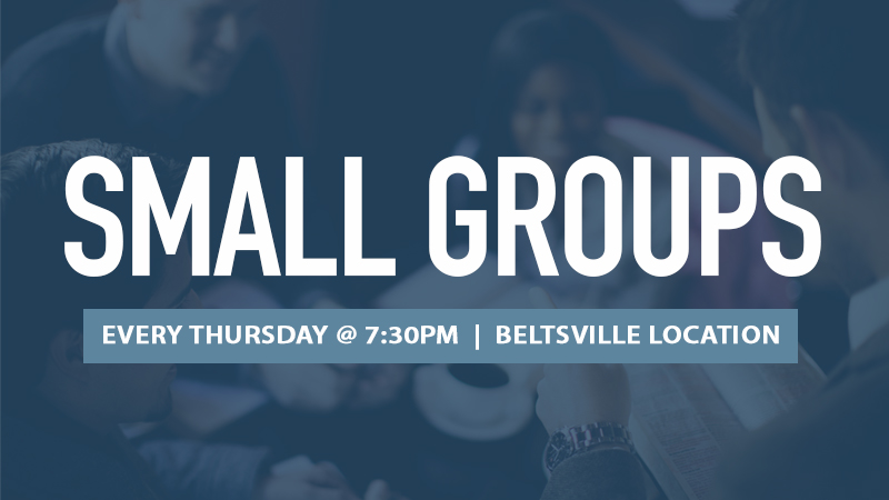 Small Groups 2019