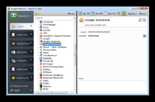 RoboForm 8.5.5.9 Crack Plus Keygen   4HowCrack