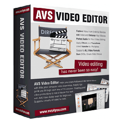 AVS Video Editor 9.4.5.377 Full Crack + Activation Key [Latest]