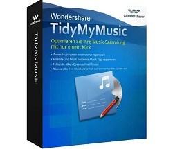 Wondershare TidyMyMusic Crack mac New