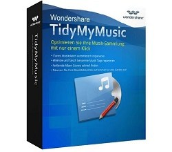 Wondershare TidyMyMusic Crack mac New