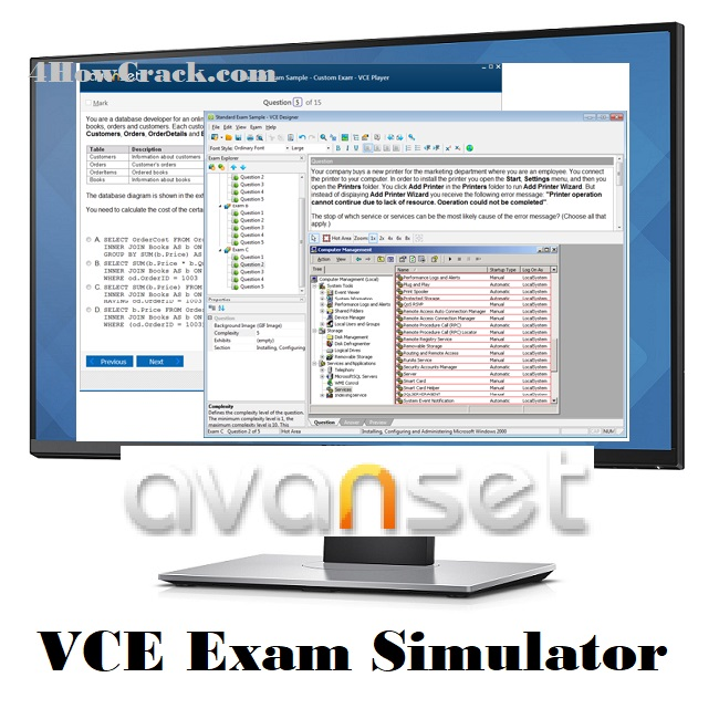 VCE Exam Simulator Free Download With Crack