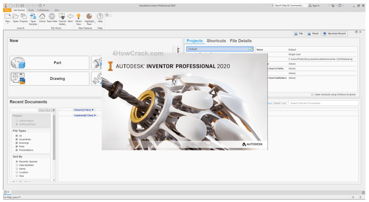 Autodesk Inventor Professional Download 2020 License