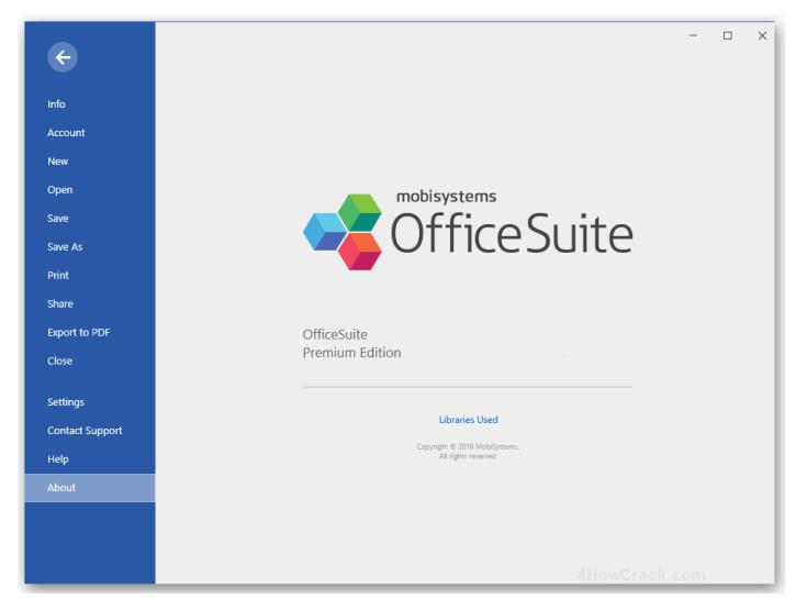 OfficeSuite Premium For Windows Full