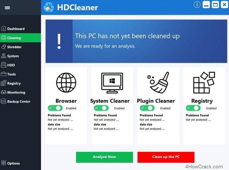 hdcleaner Serial Key