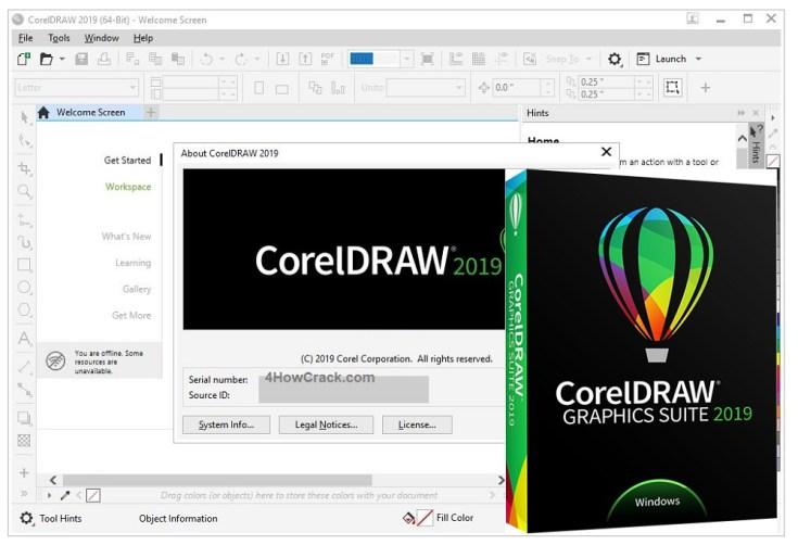 CorelDRAW Graphics Suite Serial Number Download