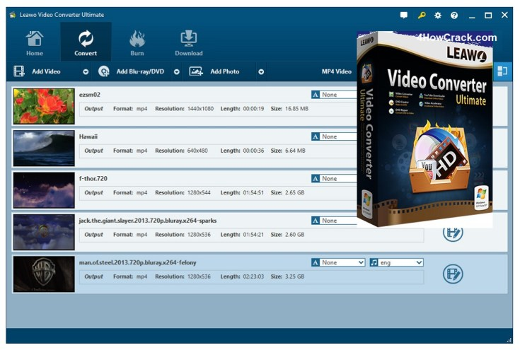 Leawo Video Converter Ultimate Registration Code
