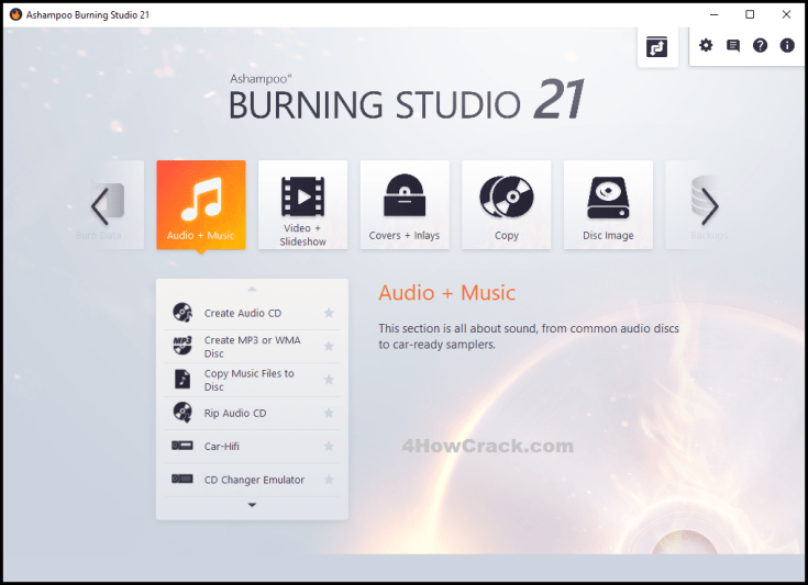 Ashampoo Burning Studio License Key Download