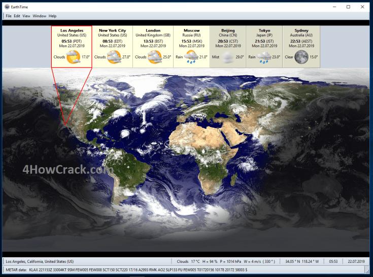 DeskSoft EarthTime Full Version