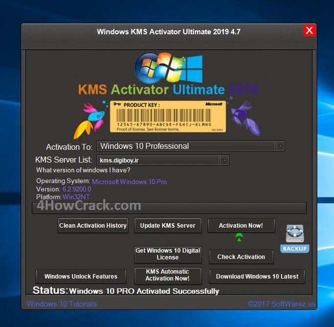 Windows KMS Activator Ultimate Final 2019