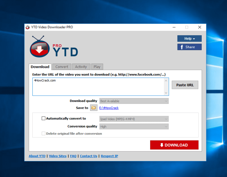 YTD Video Downloader Pro License Number