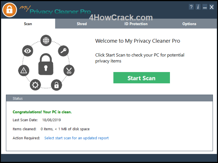 My Privacy Cleaner Pro License Key