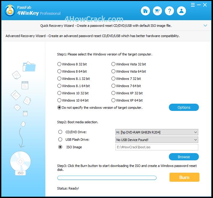 PassFab 4WinKey Professional Crack