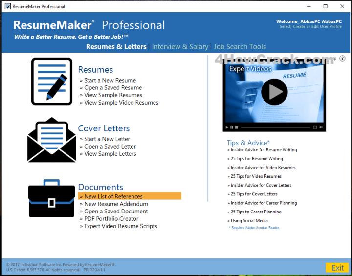ResumeMaker Professional Deluxe Serial Key