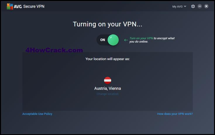 AVG Secure VPN Activation Code Download Direct link for PC