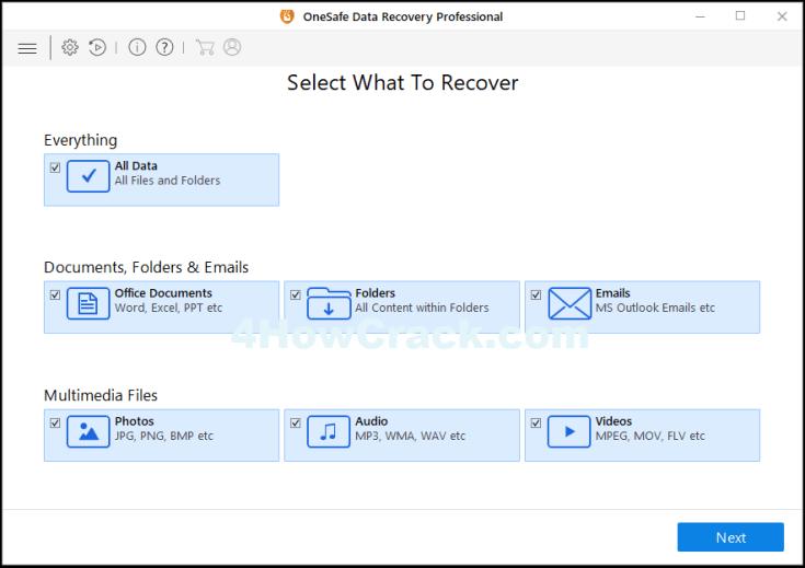 OneSafe Data Recovery Pro Activation Key