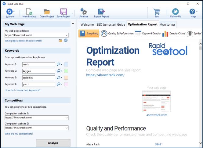 Rapid SEO Tool Enterprise License Key