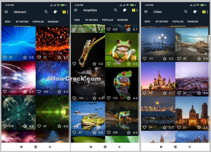 Wallpapers HD & 4K Backgrounds APK Cracked