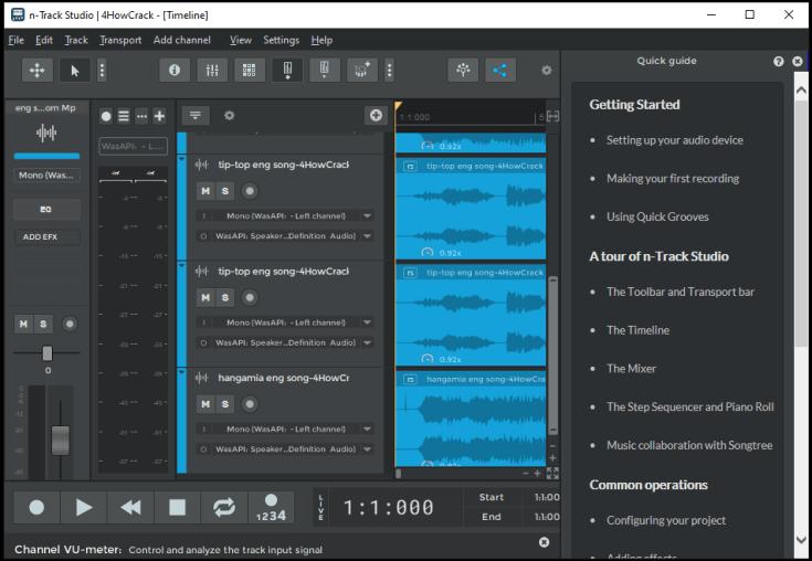 n-Track Studio Suite Serial Key Cracked