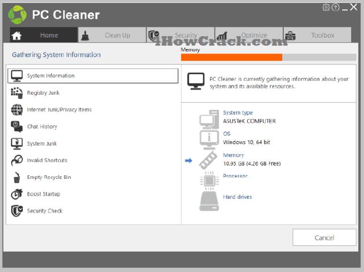 PC Cleaner Platinum Serial Key Free Download
