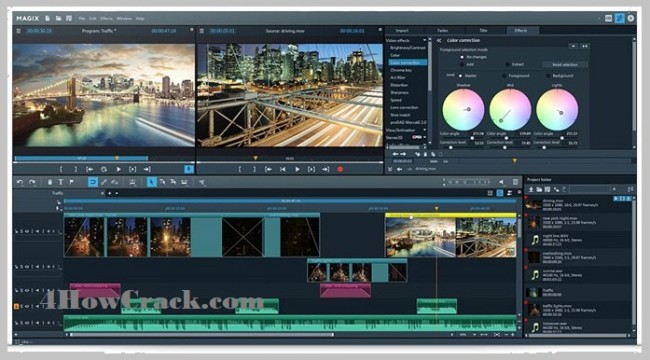 MAGIX Video Pro X12 v18.0.1.85 x64 Crack Free Download