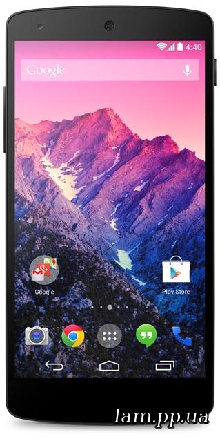 Google незаметно представила Nexus 5 и Android KitKat 4.4