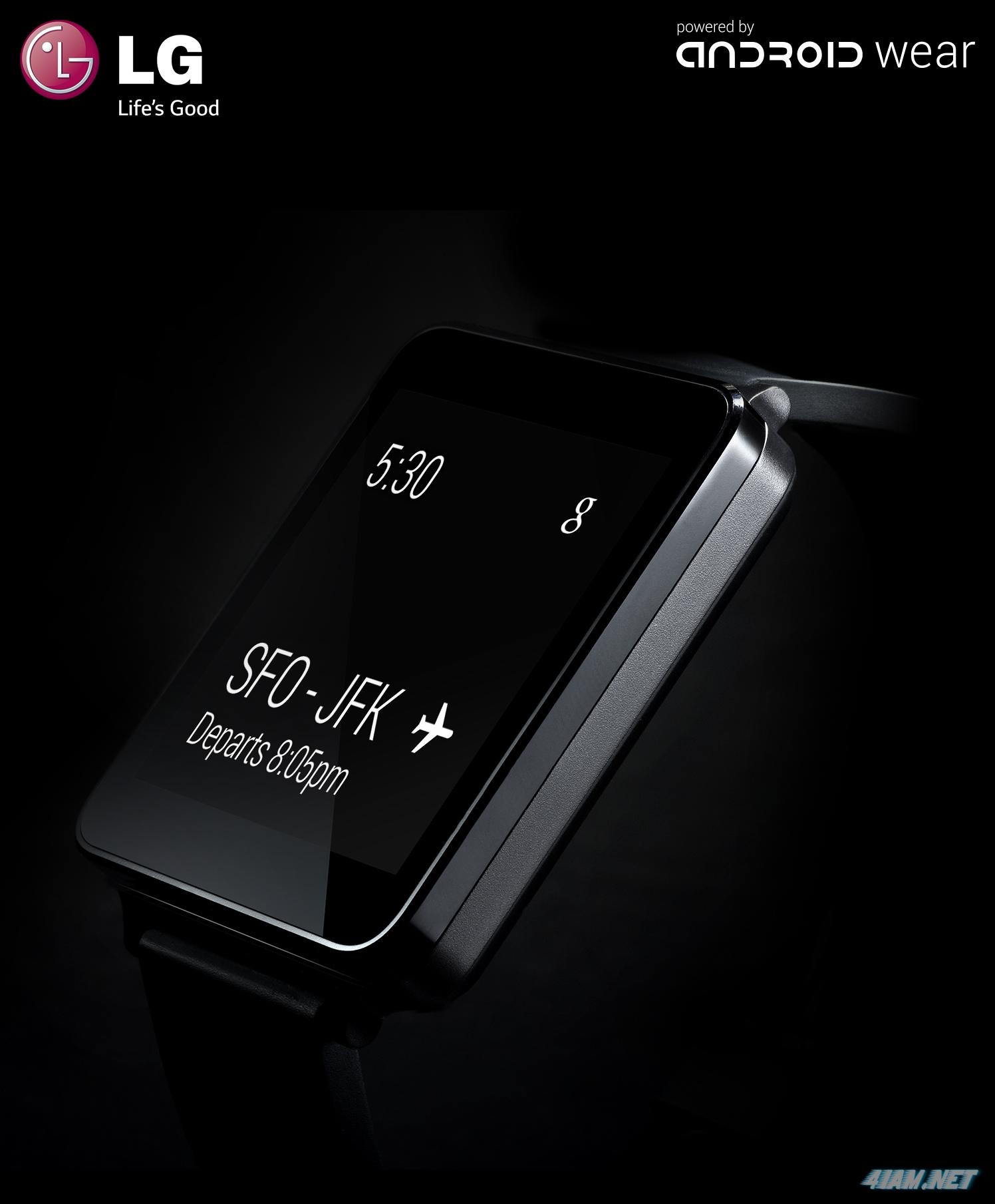 "LG представила ""умные"" часы G Watch"