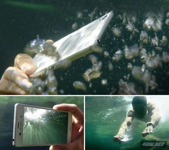 Sony Xperia Z3 Dual Dive Underwater