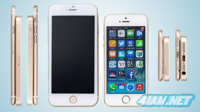 iPhone-6 Mockup VS iPhone 5s